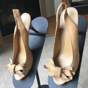 Nine West high heels.
